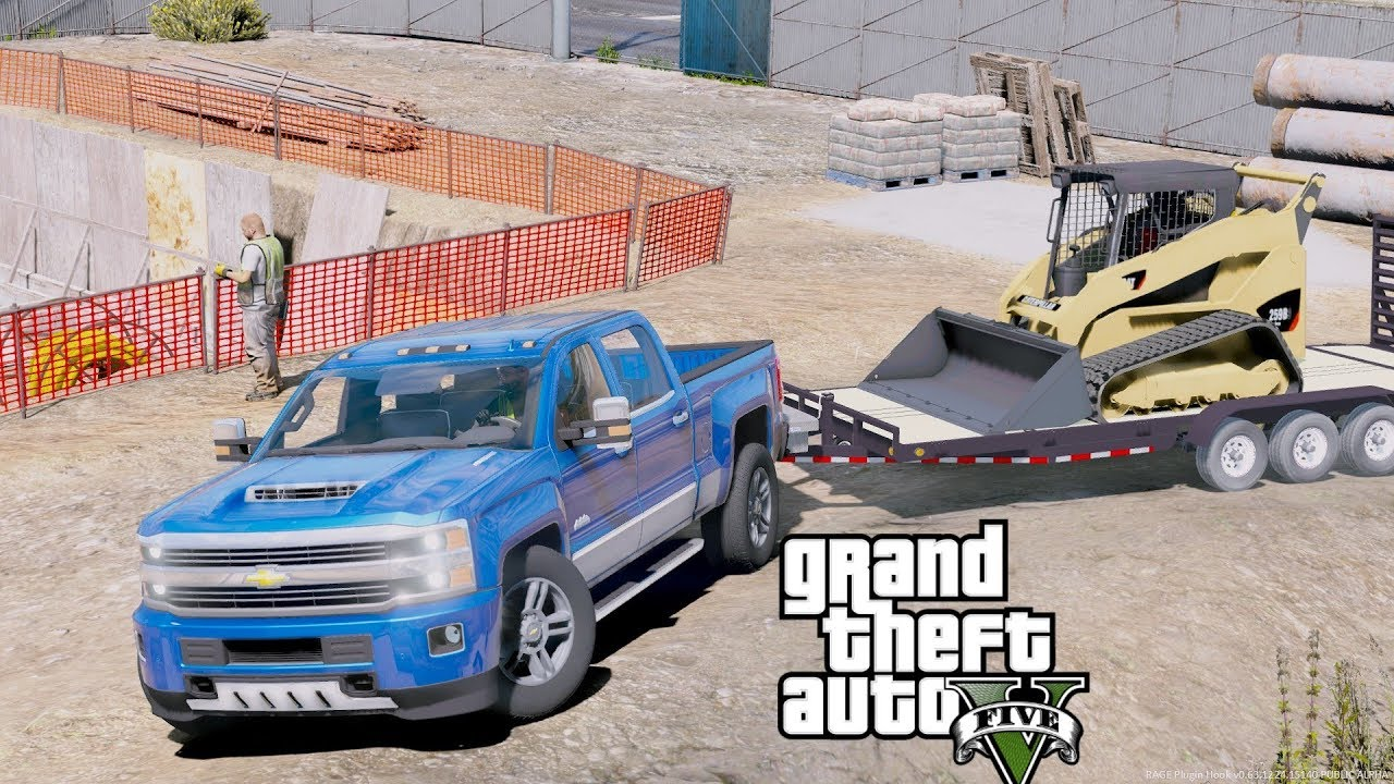 GTA 5 REAL LIFE MOD #89 New 2017 Chevy Silverado 2500HD ...