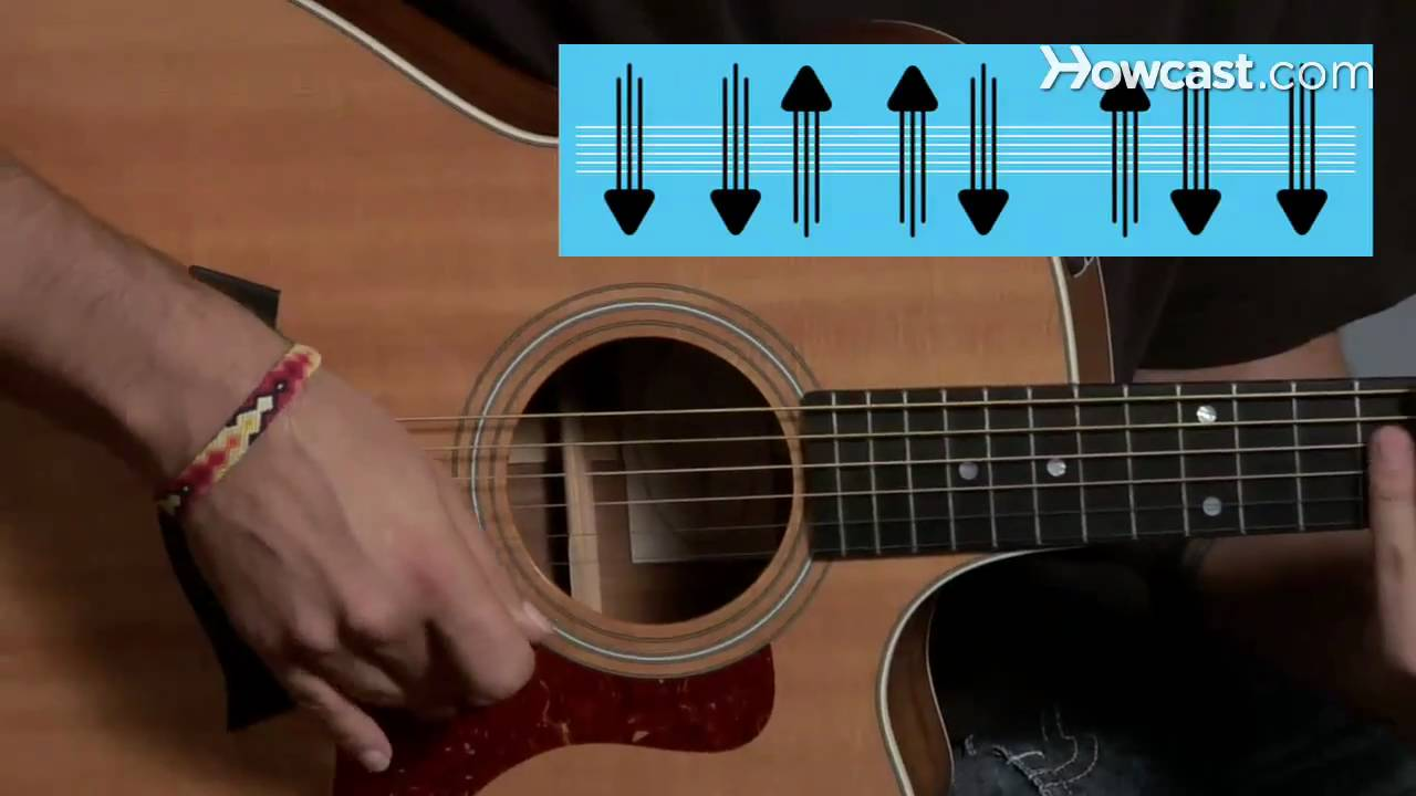 how to play strum pattern 4 guitar lessons youtube. Black Bedroom Furniture Sets. Home Design Ideas