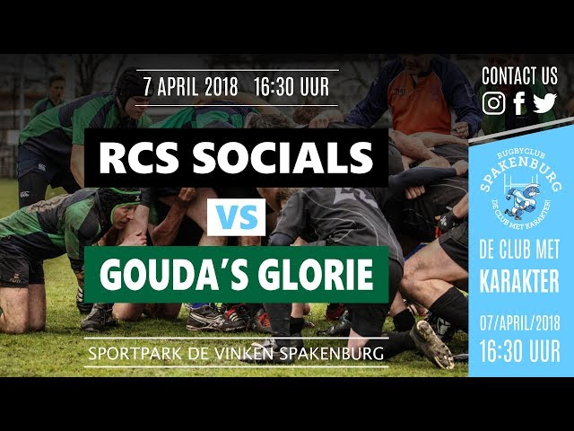 RCS Social Team - Gouda\'s Glorie - HD lang