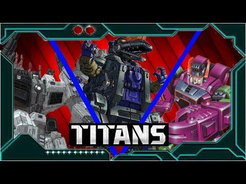 Мультфильм титаны трансформеры