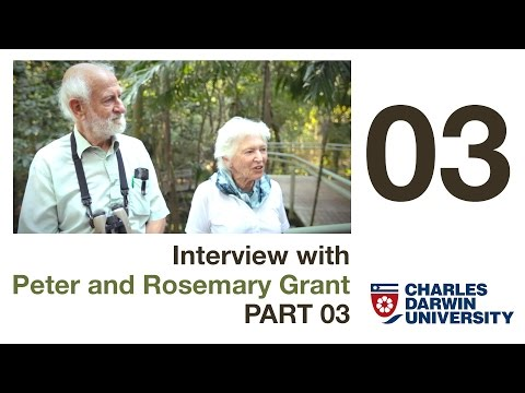 Did Darwin get anything wrong about his Finches? - Grants Interview part 03