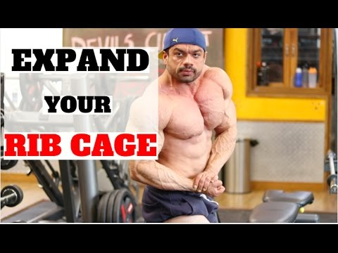 GET A WIDE UPPER BODY | ILLUSION | EXPAND RIB CAGE