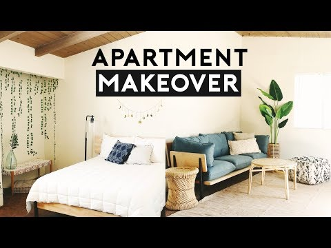 APARTMENT MAKEOVER! INTERIOR DESIGN 2019 | Nastazsa