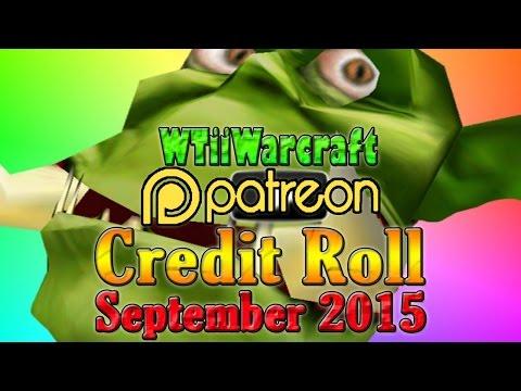 Warcraft 3 - Patron Credit Roll   September 2015