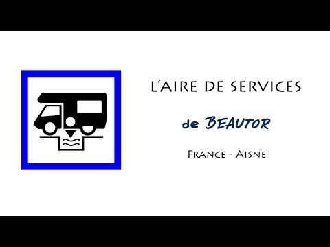 Beautor : aire de services pour camping-cars dans l'Aisne (France)