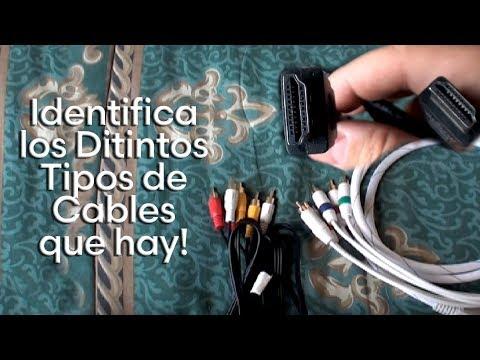 Distintos tipos de Cable de Audio y Video