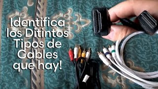 Distintos tipos de Cable de Audio y Video