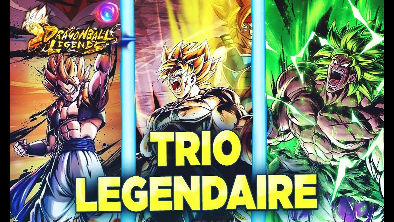 Image result for trio légendaire db legends
