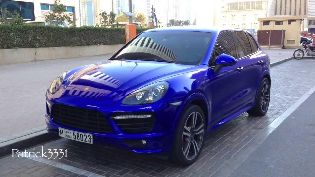 Awesome Blue Purple Porsche Cayenne Gts Youtube