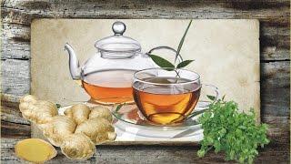 Имбирный чай для похудения с петрушкой. Выводит лишнюю жидкость из организма. Диеты (dieta).