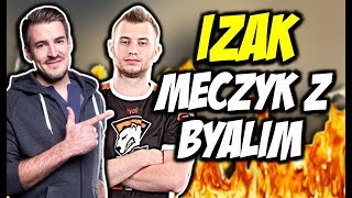 IZAK MECZYK Z BYALIM W PPL-u! SAJU SMOKE CRIMINAL, IZAK P250 KING - CSGO BEST MOMENTS