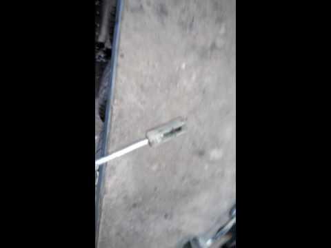 ремонт тросика сцепления