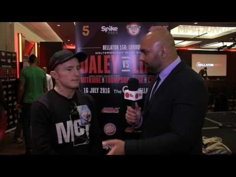 Bellator 158's James Gallagher on Conor McGregor comparisons 'Where i'm from you only wear a suit to