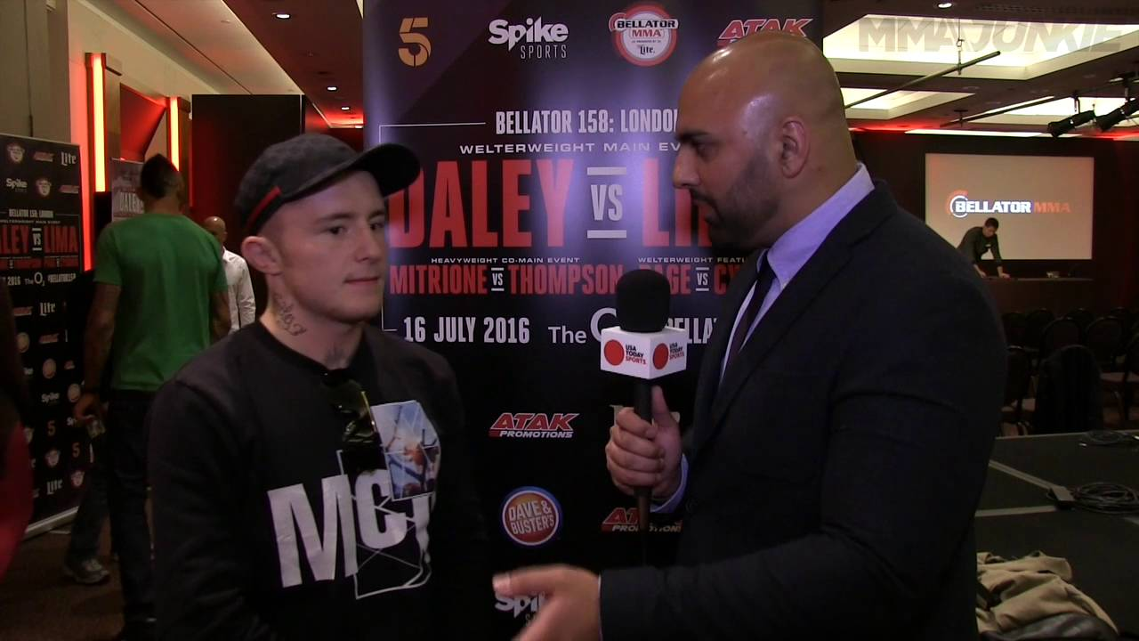 Bellator 158's James Gallagher...