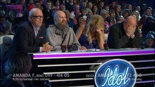 Anders Bagge kallar Laila för sin fru - Idol Sverige (TV4)
