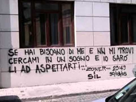 Scritte d 39 amore sui muri di caserta youtube - Scritte muri casa ...