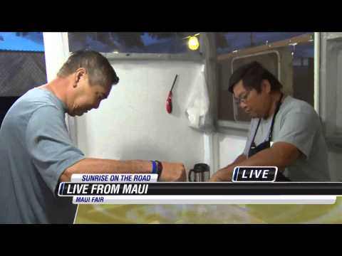 Maui County Fair   Funnel Cake