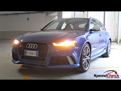 2017 Audi RS6 C7 Performance Plus - Full Walkaround, Start Up, Engine Sound