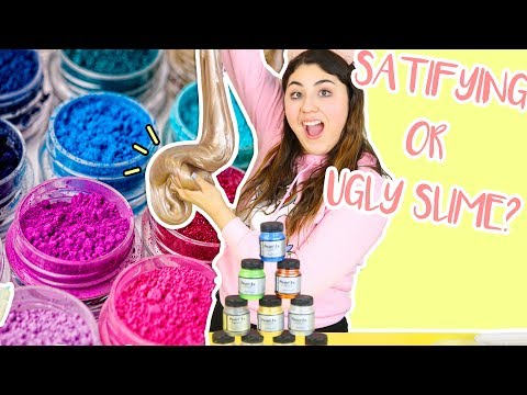 MIXING ALL OF MY PIGMENTS IN SLIME | Giant pigment slime smoothie | Slimeatory #273