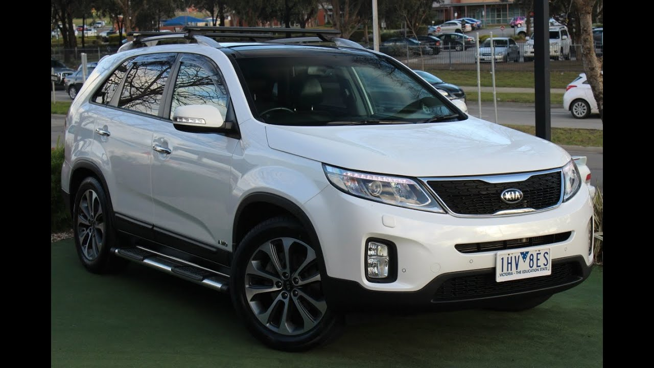 B5482   2013 Kia Sorento Platinum Auto 4WD MY13 Review
