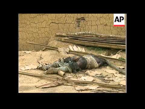 ZAIRE: REFUGEES ABANDON TINGI TINGI CAMP