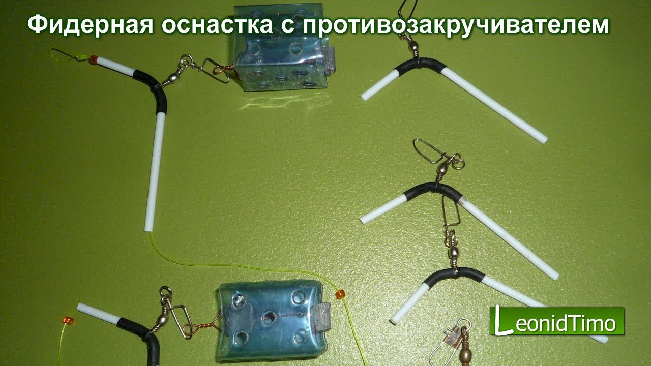 изготовление фидерных оснастки своими руками