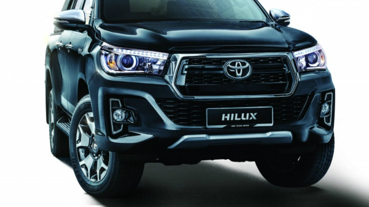 2019 Toyota Hilux Facelift L Edition Interior Exterior Features