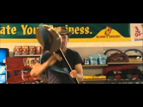 Zombieland - Tallahassee in the grocery store