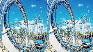 3D Roller Coaster 05 VR Videos 3D SBS [Google Cardboard VR Experience] VR Box Virtual Reality Video