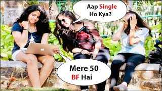 Yashvi Asking : Blue FIlm Dekho Gi   Pranks On Cute Girls   Hilarious 