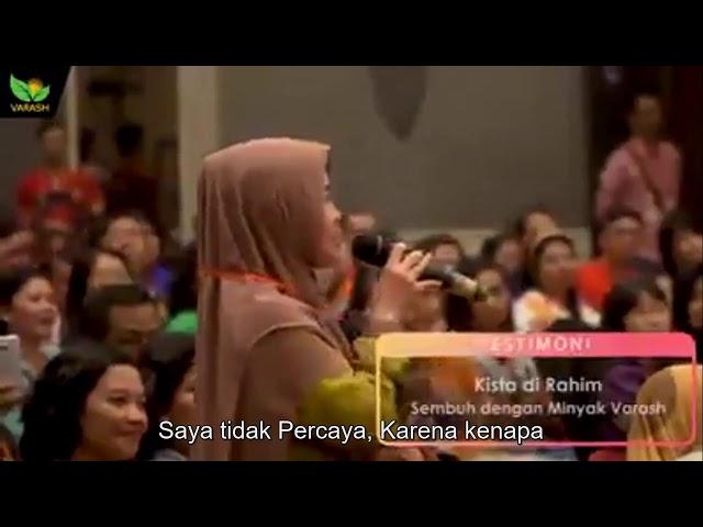 Testimoni Kista Rahim Sembuh di Seminar Varash