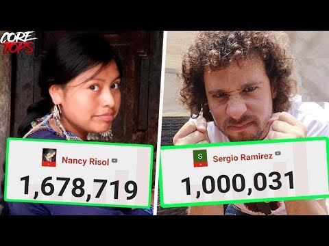 Youtubers Que Llegaron A 1,000,000 De Subs EN 1 MES   Nancy Risol, Sergio Ramírez