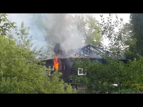 Кировград ул.Сакко и Ванцетти 25 Пожар (окончание)