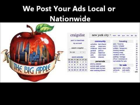 Jersey Shore Craigslist Posting Service