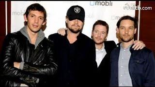 Los amigos de Leonardo DiCaprio: Tobey Maguire, Kevin Connolly y Lukas Hass