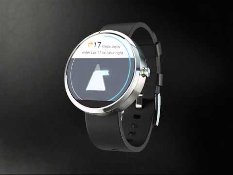 Find My Car Android Watch App - Mr. Parker