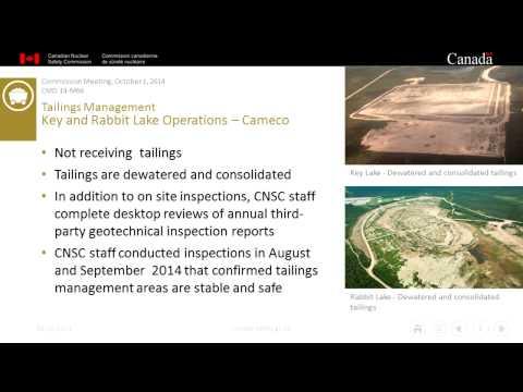 (2014/10/01) - Staff Update Regarding Mount Polley Tailings Dam Breach