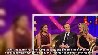 Amanda Holden pulls down David Walliams' pants on Britain's Got Talent