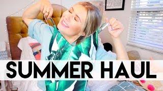 Summer Haul: Bikinis, Clothes, Makeup, & MORE!