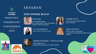 Fitness with Chris Klug and Transplant Games of America - 2021 Pediatric Transplant Conference