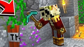 NIGDY nie wykopuj tego surowca bo zginiesz... - Minecraft: Przygody z Flotharem #6