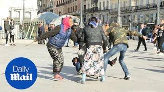 Police intervene in fight involving Roma men and women