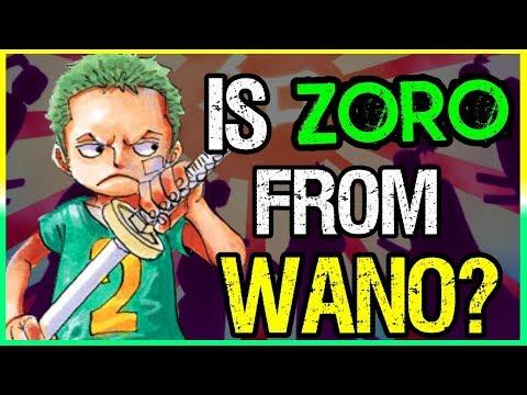 Is Zoro From Wano Kuni? - One Piece Theory