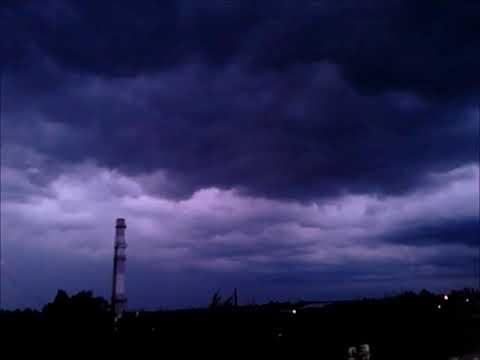 дьявольская туча и серебристые облака