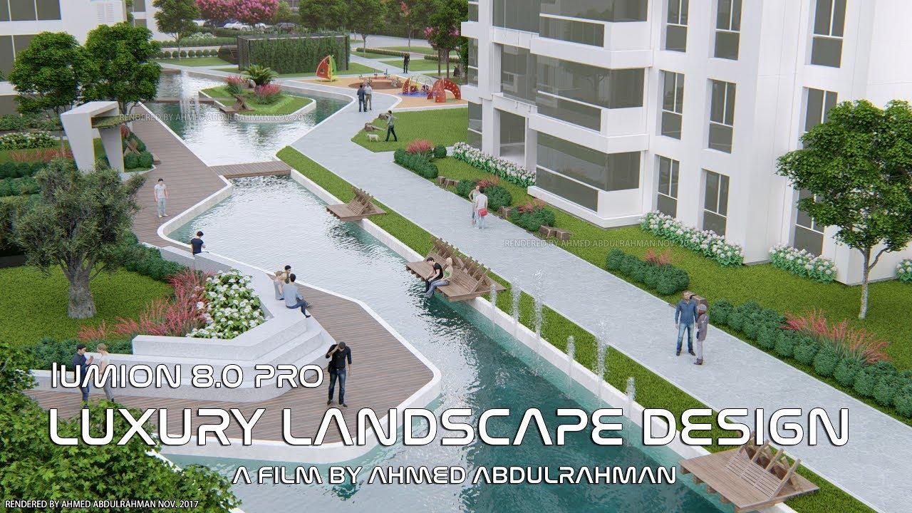 Lumion 8.0 Pro 3D Animation | Luxurious Landscape Design | Marin City  Trabzon | AHMED Abdulrahman