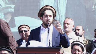 Son Of Afghanistan's 'Lion Of Panjshir' Takes Up Father's Fight Against Taliban