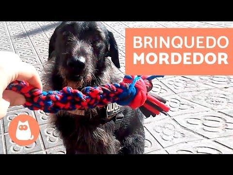 BRINQUEDO MORDEDOR De Nós Para Cachorros FEITO EM CASA