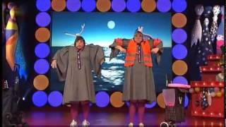 Margot & Lisbeth als Zwei Stewardessen - Auftritt bei Fastnacht Frankfurt 2011