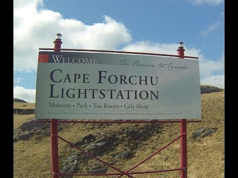 Cape Forchu Lightstation - Yarmouth Nova Scotia