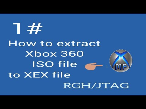 How Extract Xbox 360 ISO File To (.xex) [RGH/JTAG] [HD]
